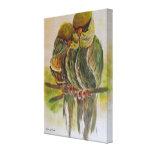 Frida Kahlo pintó pájaros Lona Estirada Galerías