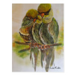 Frida Kahlo pintó pájaros Postal