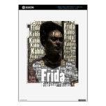 Frida Kahlo que pone letras al retrato iPad 3 Pegatina Skin