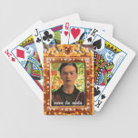 Frida Kahlo Reflejando Baraja Cartas De Poker