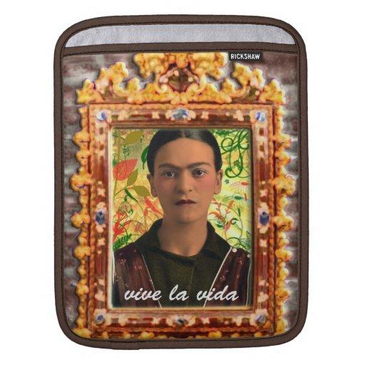 Frida Kahlo Reflejando Fundas Para iPads