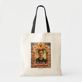 Frida Kahlo Reflejando Tote Bag
