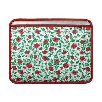 Frida Kahlo   Skulls & Roses MacBook Sleeve