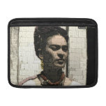 Frida Kahlo Textile Portrait Sleeves For MacBook Air