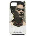 Frida Kahlo Textile Portrait iPhone 5 Cases