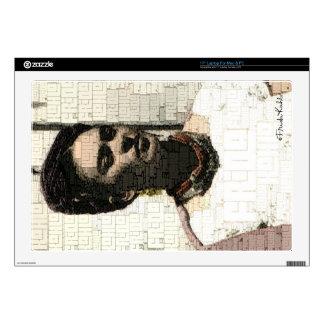 """Frida Kahlo Textile Portrait Skin For 17"""" Laptop"""