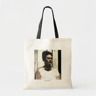 Frida Kahlo Textile Portrait Tote Bag