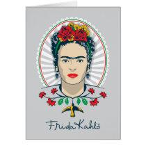 Frida Kahlo | Vintage Floral