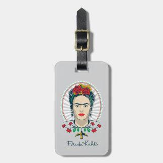 Frida Kahlo | Vintage Floral Bag Tag