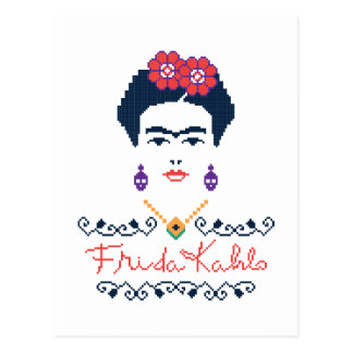 Frida Kahlo | Viva Mexico Postcard