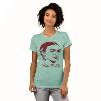Frida Khalo T-Shirt with Real Signature and Quote