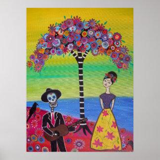 Frida Serenading Posters