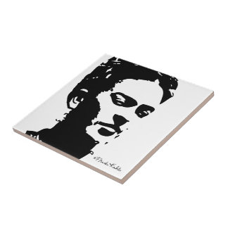 Frida Shadow Portrait Small Square Tile