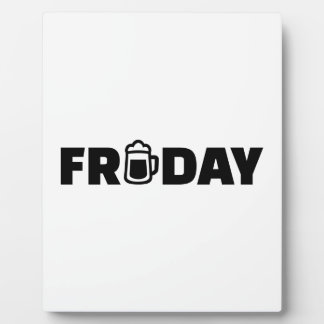 Friday beer photo plaque