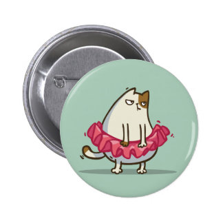 Friday Cat №1 2 Inch Round Button
