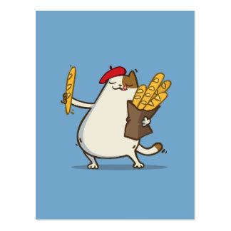 Friday Cat №3 Postcard