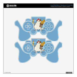 Friday Cat №3 PS3 Controller Skin