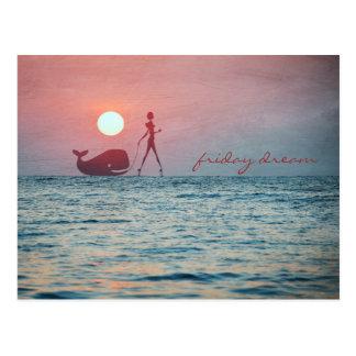 Friday Dream Postcard