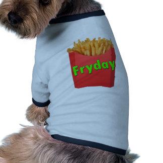 friday FRYDAY Pet Clothes