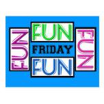 Friday Fun!  Partying YEAH! Postcard