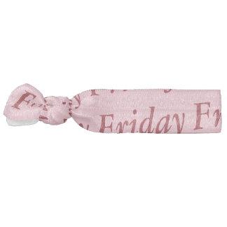 friday hair ornament hair tie