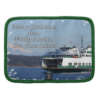 Friday Harbor Ferry Christmas Happy Holidays Planners