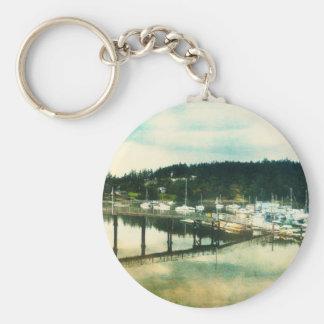 Friday Harbor Keychain