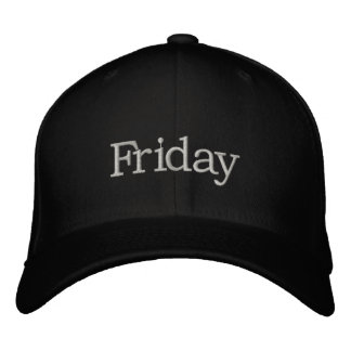 Friday Hat Embroidered Hat