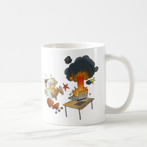 Friday Is Backup Day! Classic White Coffee Mug