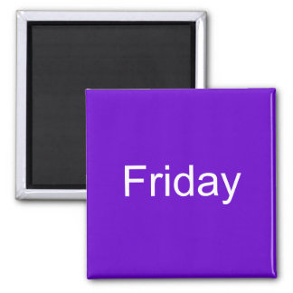 Friday Magnet