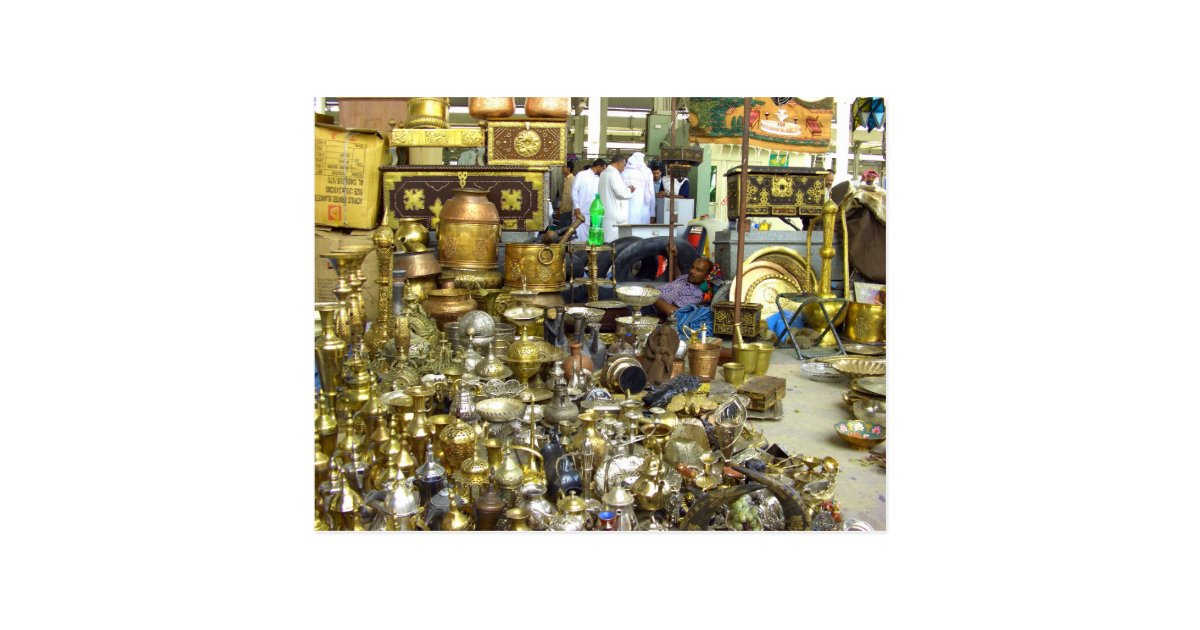 Friday market, Souq Juma, Kuwait 2007 Postcard | Zazzle com