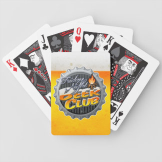 Friday Night Beer Club Playing Cards