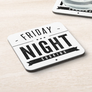 Friday Night Cooking Coasters
