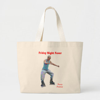 Friday Night Fever Tote Canvas Bags