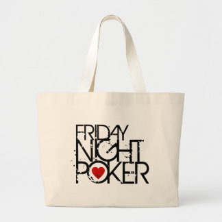 Friday Night Poker Canvas Bags