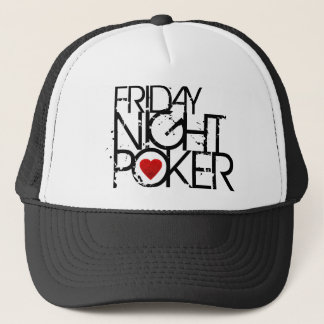 Friday Night Poker Trucker Hat