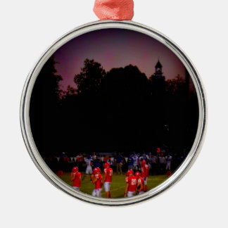 Friday Night Twilight Metal Ornament