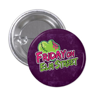 Friday on Elm Street - Zombie Heart Pin