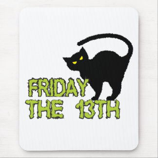 Friday The 13th - Bad Luck Day Superstition Mouse Pad