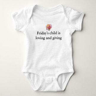 Friday's Child Baby Bodysuit