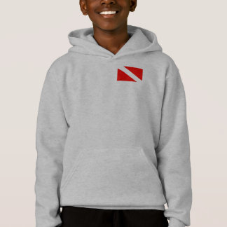 friday's over go diving hoodie