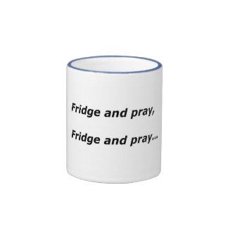 Fridge and pray mug
