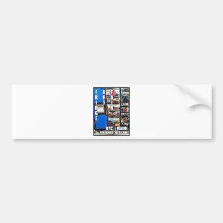 FRIDGE ART FAIR NYC:ICE CREAM SUNDAE PROJECT BUMPER STICKER
