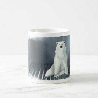 Fridge bear basic white mug