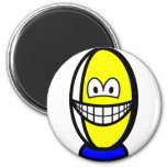 Rugby ball smile   fridge_magents_magnet