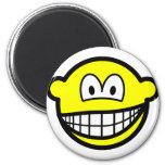 Smirking smile   fridge_magents_magnet