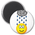 Depressed emoticon   fridge_magents_magnet