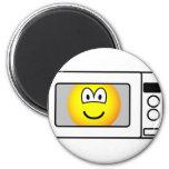Microwaved emoticon   fridge_magents_magnet