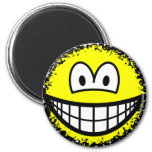 Fuzzy smile or smile after accidentally falling into the washing-machine  fridge_magents_magnet