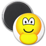 Pregnant emoticon   fridge_magents_magnet